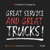 Villa Park Veterans Towing & Recovery | Reviews