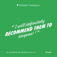 Hillside Veterans Towing & Recovery | Reviews